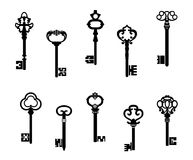 Free Old Antique Keys Royalty Free Stock Images - 25103159