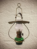 Old antique oil lamp Royalty Free Stock Photos