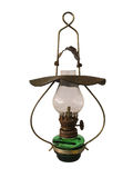 Old antique oil lamp Stock Images