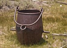 Old and Antique Ore Bucket Stock Images