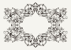 Old Antique Ornate Frame Stock Photo