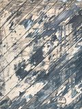 Grungy textured wooden texture with scratched paint. Old antique rustic grungy textured wooden floor with scratches Stock Image