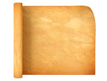 Old antique scroll paper Royalty Free Stock Photo