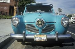 An old antique 1951 Studebaker in Los Angeles, CA Stock Photography
