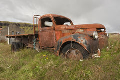 Old Antique Truck Royalty Free Stock Images