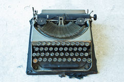 Old Antique typewriter Royalty Free Stock Photos