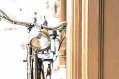 Old antique vintage bicycle - vintage effect style pictures Stock Photo
