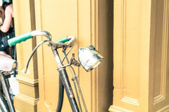 Old antique vintage bicycle - vintage effect style pictures Stock Images