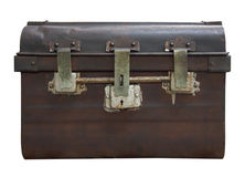 Old Antique Vintage Trunk royalty free stock photo
