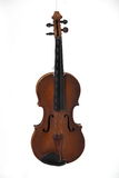 Old antique violin. Stock Photos
