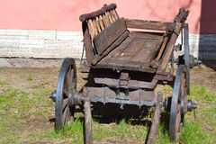 Old antique wagon Royalty Free Stock Images