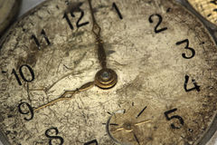 Free Old Antique Wall Clock Royalty Free Stock Photo - 57711515