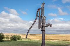 Old antique water pump Royalty Free Stock Image