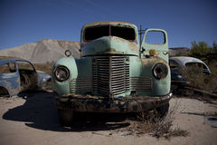 Old antiques truck, old lorry. Old antiques truck, discarded, dated, abandoned, old lorry, junk-yard Royalty Free Stock Photography