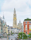 The old Antwerp Stock Photography