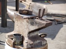 Old anvil Stock Image