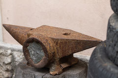 Old anvil Royalty Free Stock Images