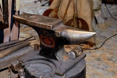 Old anvil Stock Photography