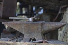 Old anvil Stock Image