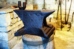 Old Anvil Stock Photo