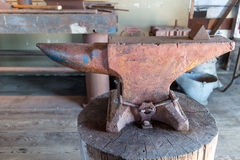 An old anvil Stock Image