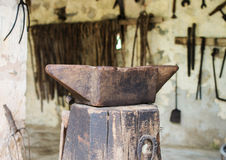 Old anvil. Stock Image