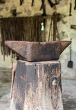 Old anvil. Royalty Free Stock Photography