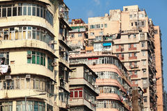 Old apartment building Royalty Free Stock Images