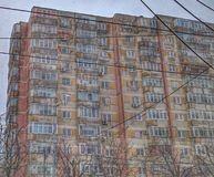 Old apartment building Royalty Free Stock Photography
