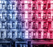 Old apartment building in the Lower East Side of Manhattan, New York City Royalty Free Stock Photo
