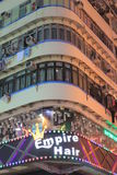 Old apartment building at mongkok Stock Images