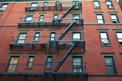Old apartment buildings Stock Image