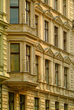 Old apartment buildings Royalty Free Stock Photos