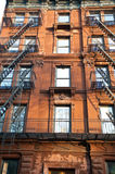 Old apartment buildings Stock Photo