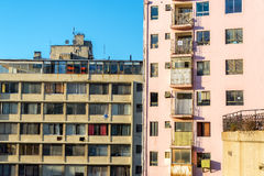 Old Apartment Buildings Stock Images