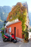 Old apartment house in Kotor Royalty Free Stock Images