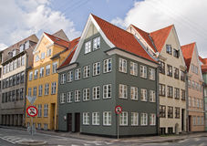 The old apartment houses Royalty Free Stock Image