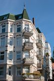 Old apartment houses Royalty Free Stock Photo