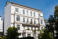 Old apartment houses Royalty Free Stock Photography