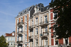 Old apartment houses Royalty Free Stock Photos