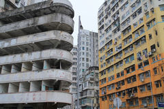 Old apartment at sham Shui Po Stock Photography