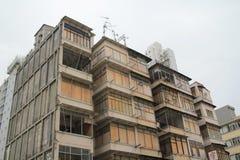 Old apartment at sham Shui Po Stock Photos