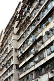 Old apartments in Hong Kong Stock Photography