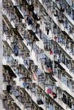 Old apartments in Hong Kong Royalty Free Stock Image