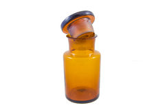 Old apothecary jar Royalty Free Stock Photography