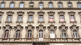 An old appartment buidling in Budapest Hungary Stock Photo