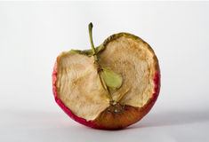 Old apple. Royalty Free Stock Photography