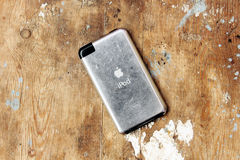 Old apple ipod touch Royalty Free Stock Image