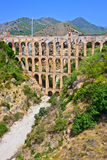 Old aqueduct Stock Image