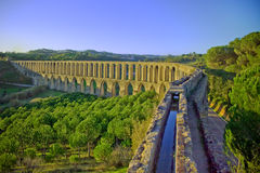 Old aqueduct Stock Images